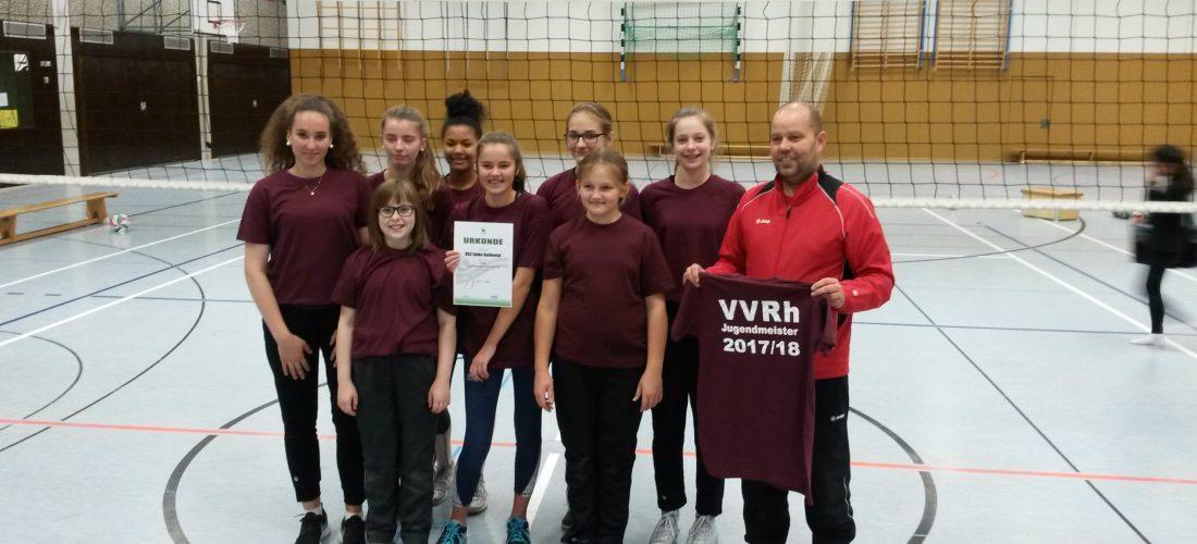 U16 Rheinhessenmeister 2017/2018